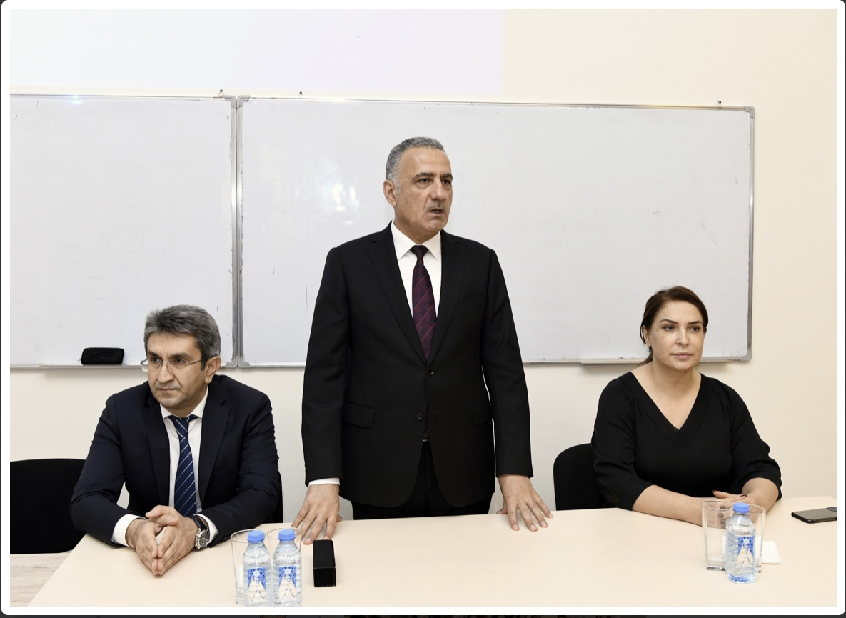 The Azerbaijan Food Safety Agency held a meeting with the students of the Faculty of Chemical Technology