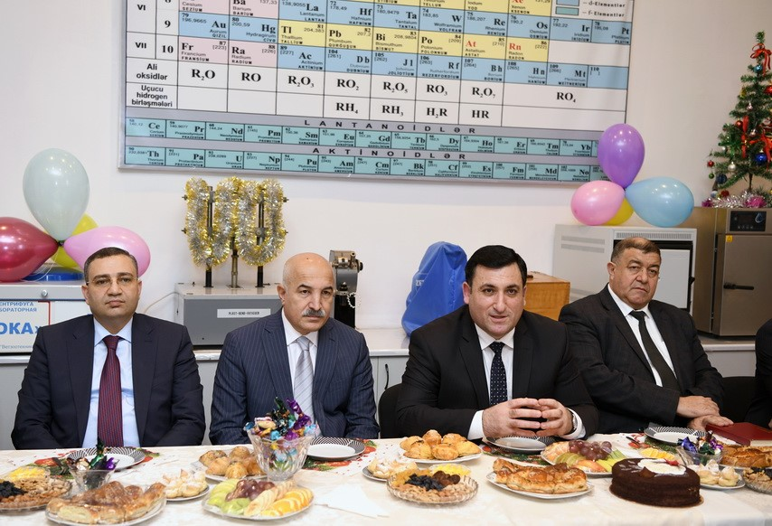 ASOIU rector visited several faculties and departments of the University on the occasion of World Azerbaijanis Solidarity Day and New Year